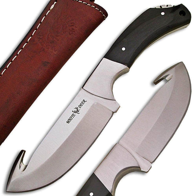 White Deer Guthook Ranger Series J2 Steel Skinner Knife