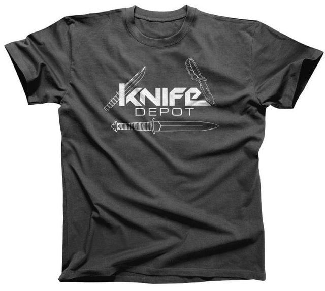 Knife Depot Unisex 100% Quality Cotton Combed Ringspun T-shirt