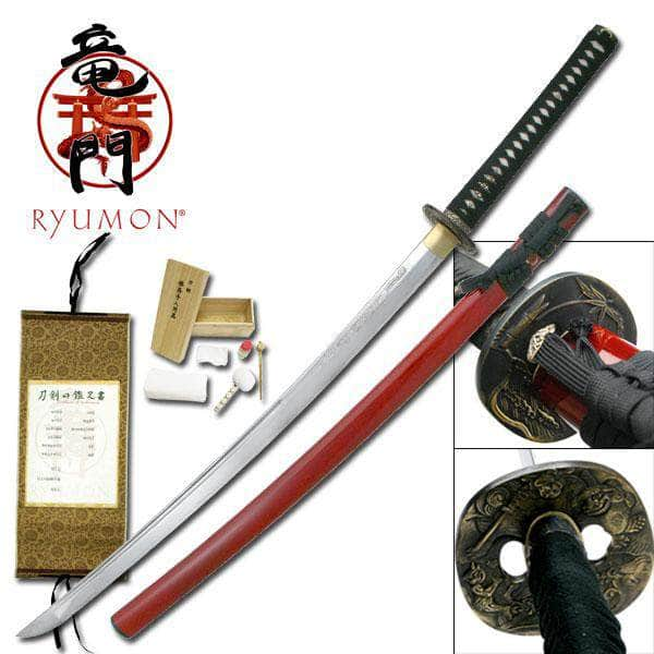 RYUMON RY-3044 HAND FORGED SAMURAI SWORD 40.9