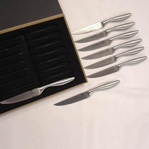 Chicago Cutlery 9-Pc. Steak Set - (8-Fine Edge Steak Knives & Gift Box)