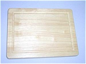 "6"" x 9"" x ¾"" Classic Long-Grain Cutting Board with Juice Groove"