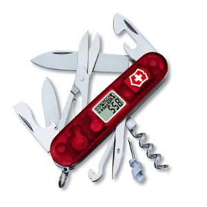Victorinox Traveller, Ruby Translucent Handle