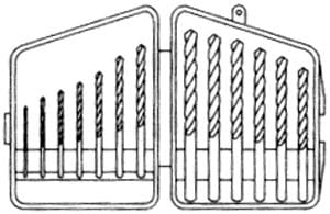 Prima Tools 13000 13-pc Drill Bit Set