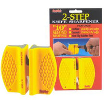 Two-Step Knife Sharpener, Carbide & Ceramic