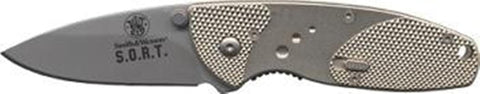 Smith & Wesson S.O.R.T. Medium Assisted Openinger Knife with Plain Edge Bla
