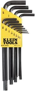 Klein Tools LLK12 12-Piece L-Style Hex-Key Set