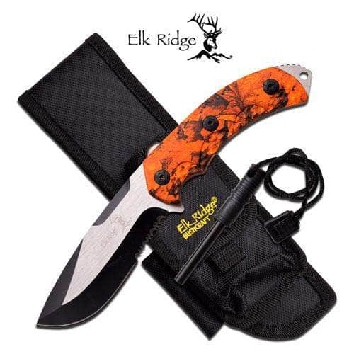 Elk Ridge ER-537OC Fixed Blade Knife