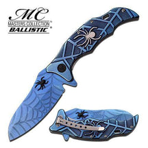 SPIDER COLLECTIONSPRING ASSISTED KNIFE BLUE