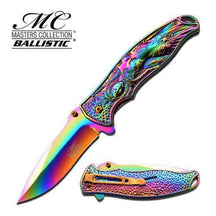 MASTERS COLLECTION SPRING ASSISTED KNIFE TITANIUM COATED