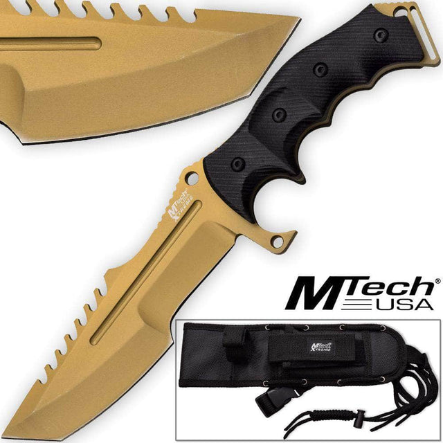 Call Of Duty Ghosts 3851 USA Knife Xtreme Gold Tactical Militar
