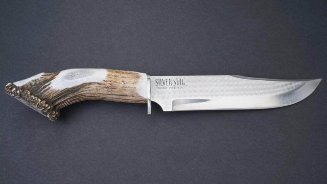 Silver Stag Big Bowie Knife