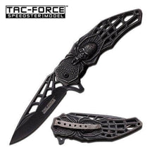 Tac-Force Speedster Spider Skull Spring Assisted Knife