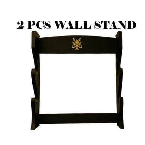 2 Sword Wall Display Rack