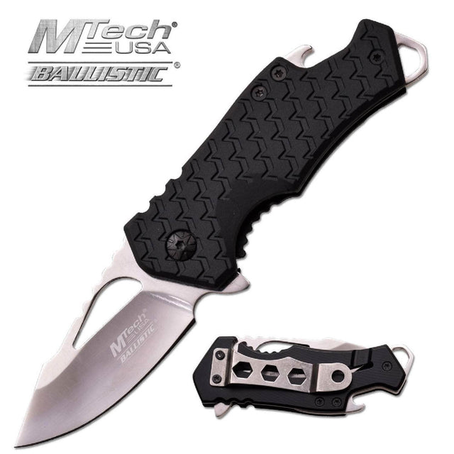 MTech Assisted 2.25 in Blade Black Nylon Hndl MT-A882CH