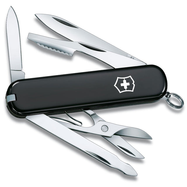 "Victorinox Executive Swiss Army Knife, 3"" Black Handles, 10 Functions"