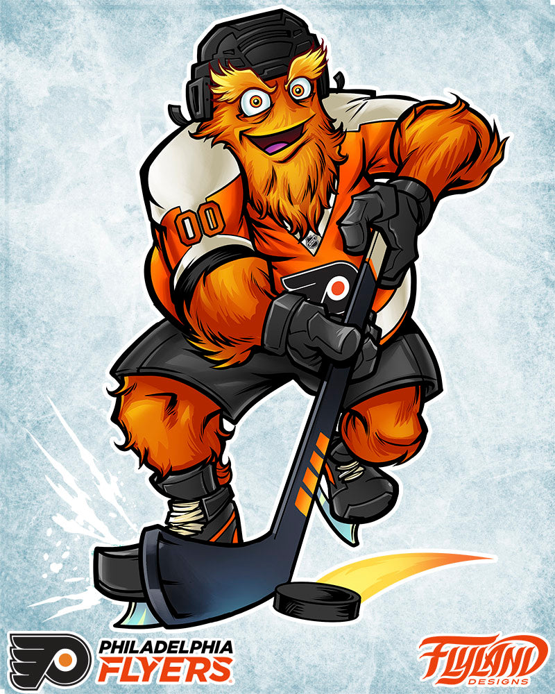 Philadelphia Flyers Official Mascot Designed By Brian Allen