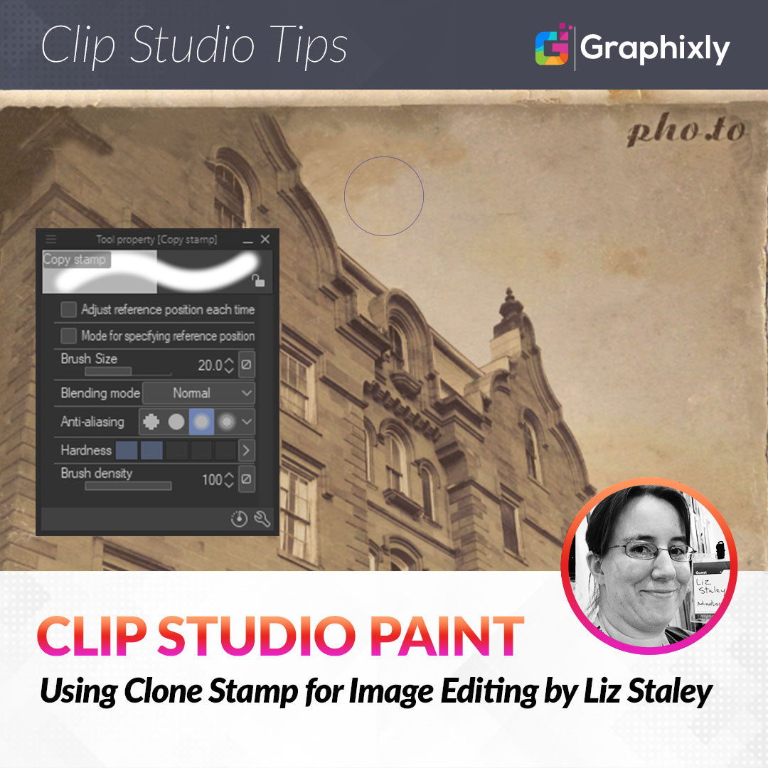 Using Clone Stamp for Image Editing