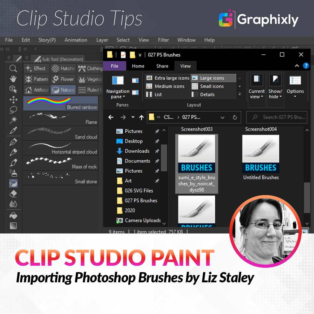 Importing Photoshop Brushes