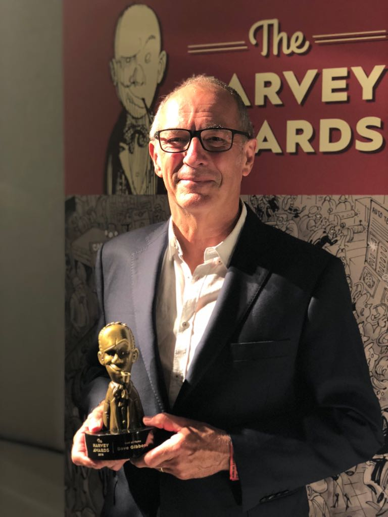 Clip Studio Paint Artist Dave Gibbons Presented With Harvey Hall of Fame Award