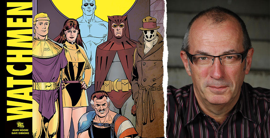 Dave Gibbons: Using Clip Studio Paint To Create Comic Book Art
