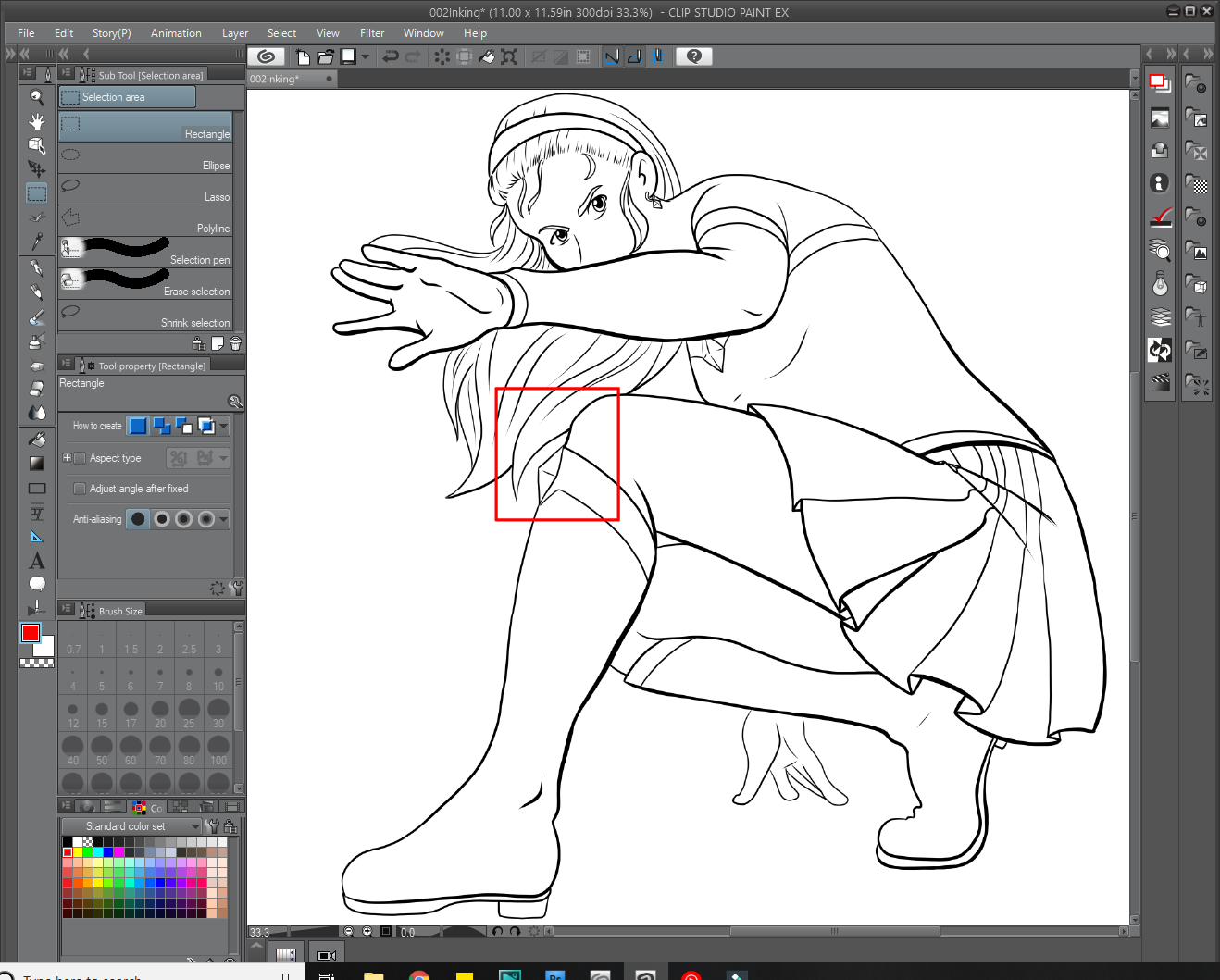Tips For Inking Line Art Graphixly