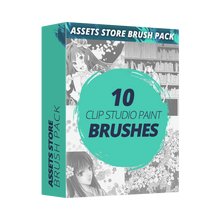 Clip Studio Assets Brush Pack