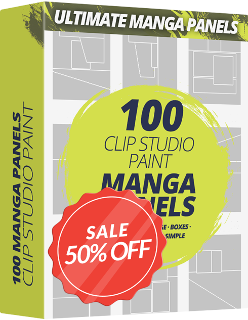 Ultimate Comic & Manga Panel Frames Pack For CLIP STUDIO PAINT - Graphixly