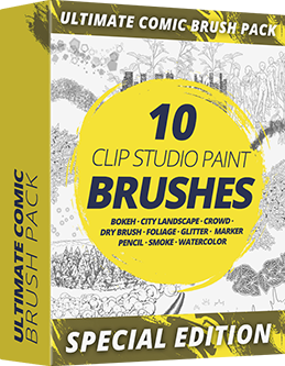 Comic Brush Pack Special Edition