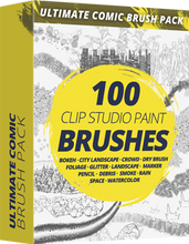 Ultimate Comic Brush Pack