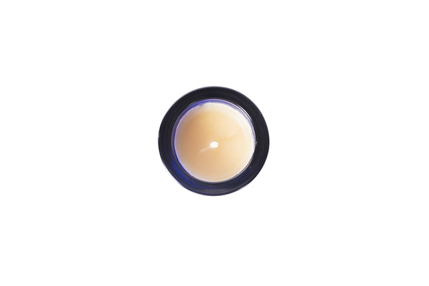 Small Lavender Beeswax Candle