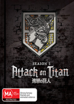 Attack on Titan - Season 03 Part 01 (Limited Edition)