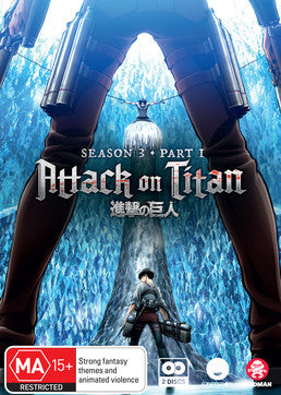 Attack on Titan - Season 03 Part 01 (Blu-Ray)