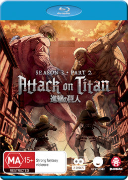 Attack on Titan - Season 3 Part 2 (Bluray)