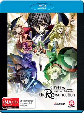 Code Geass: Lelouch of the Re;Surrection (Bluray)