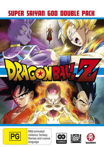 Dragon Ball Z: Super Saiyan God Double Pack (Blu-Ray)