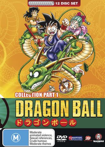 Dragon Ball Complete Collection Part 1 (Sagas 1-6) (Fatpack)