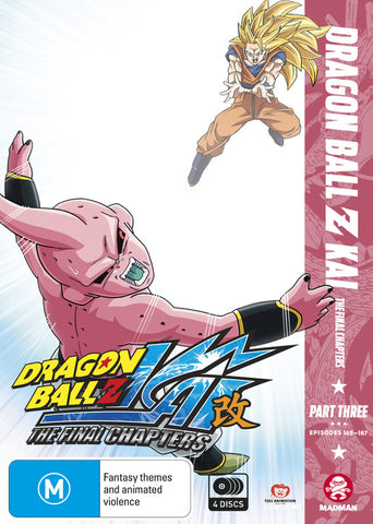 Dragon Ball Z Kai: The Final Chapters Part 3