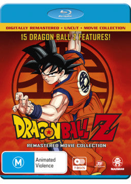 Dragon Ball Z: Remastered Complete Movie Collection