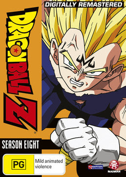 Dragon Ball Z: Remastered Uncut Season 08 (Episodes 220-253)