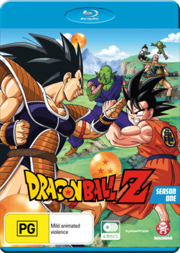 Dragon Ball Z: Season 01 (Episodes 1-39)