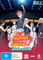 Food Wars! The Second Plate: Season 02
