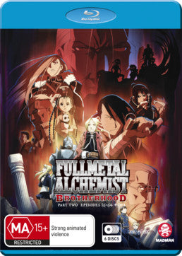 Fullmetal Alchemist: Brotherhood Part 2