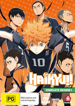 Haikyu!! - Season 1 (Dual Language Edition)