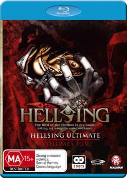 Hellsing Ultimate Collection 1 (Eps 1-4)