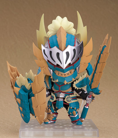 Nendoroid 1421 - Hunter: Male Zinogre Alpha Armor Ver.