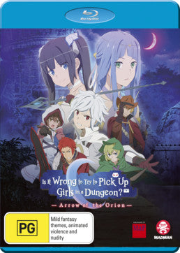 Is it Wrong to Try to Pick up Girls in a Dungeon? The Movie - Arrow of the Orion