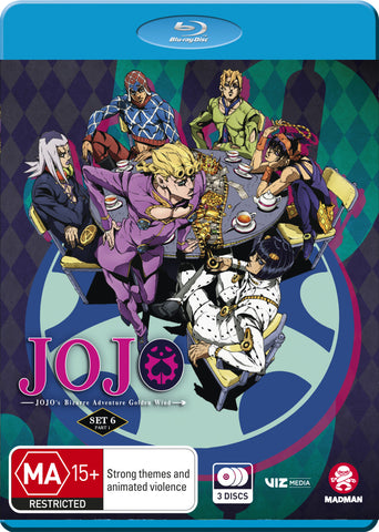 Jojo's Bizarre Adventure - Set 6: Golden Wind Part 1