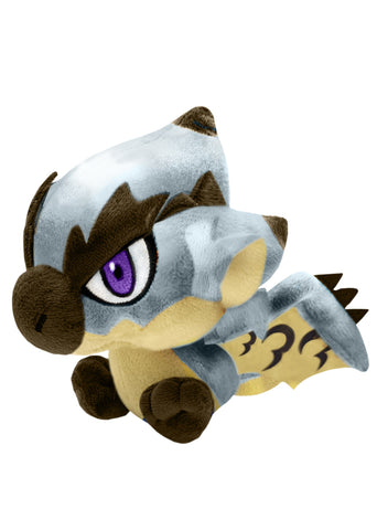 Monster Hunter - Chibi Plush Silver Rathalos