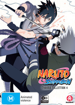 Naruto Shippuden: Chakra Collection 4