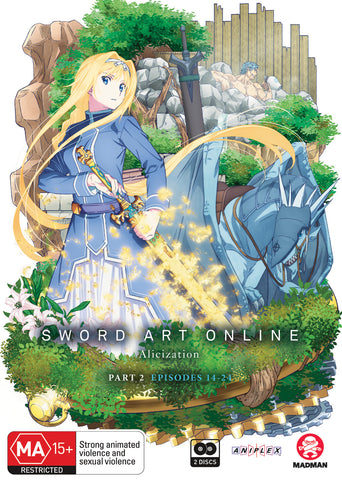 Sword Art Online Alicization Part 2